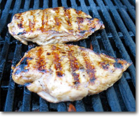 Grilled Buttermilk Chicken