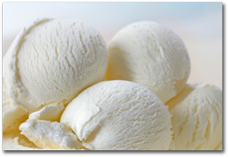 vanilla coconut ice cream